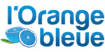 orange bleue